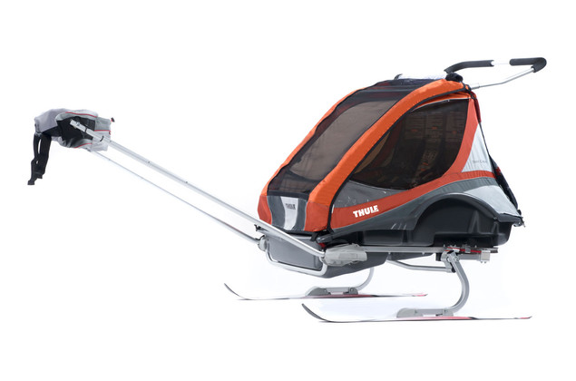 Thule Chariot Captain2 Orange Ski