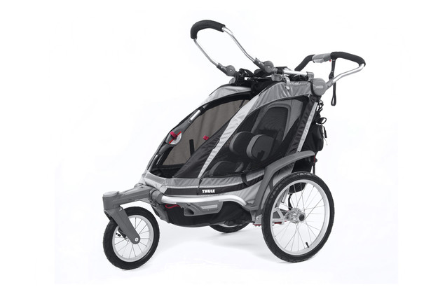 Thule Chariot Chinook1 Black Stroll