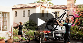 Thule Bike Carriers | Rear Door Mounted