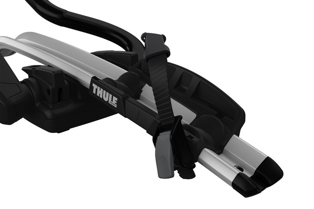 Thule ProRide 598 Roof Bike Carrier detail - wheel holder
