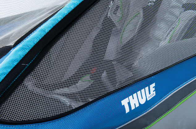 Thule Chariot CX window venting
