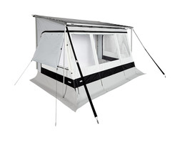 Tents for vans, caravans and motorhomes