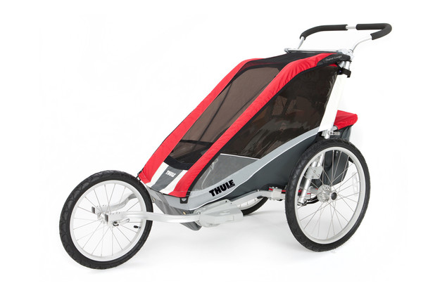 Thule Chariot Cougar1 Red Jog
