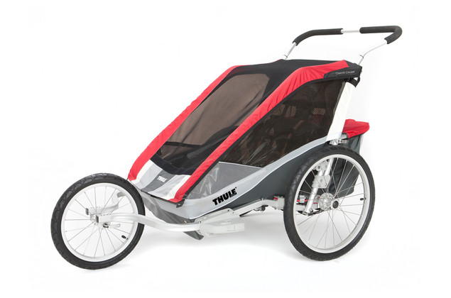 Thule Chariot Cougar2 Red Jog