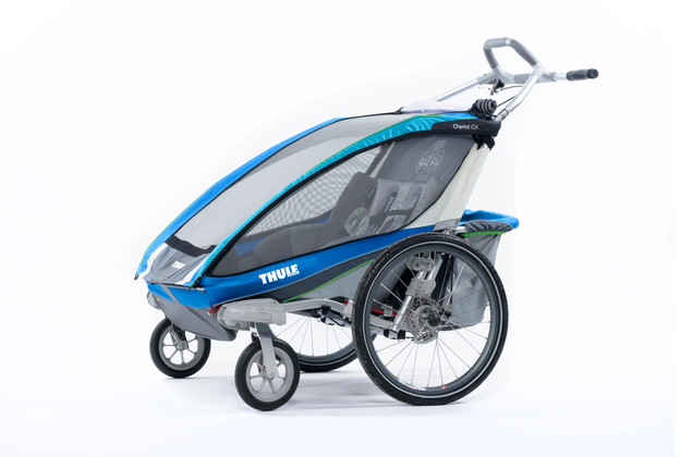 Thule Chariot CX2 Blue Stroll