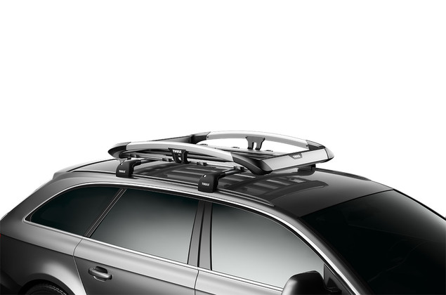 Thule Trail 823 on car